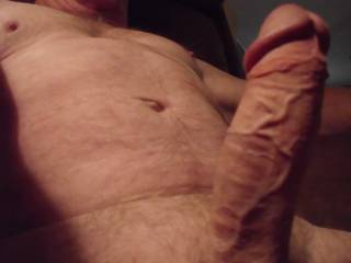 "Mmmmmm.... nice ""vascular"" COCK!  Looks like it would fit in my mouth, (pussy & ass, too), very ""nicely""!!!  Sue xxx"