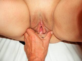 I want my tongue deep in that hot pussy and in her warm tasty ass.