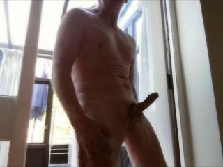 Full frontal erection#2