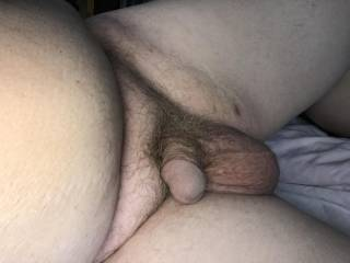 My small cock and big balls.
