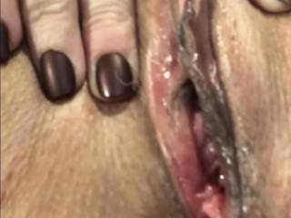 made my self cum again. My clitty is so hard and I'm all wet!