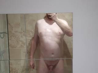 Just getting a hot bath