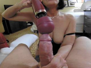 He loved this and soon showed how by shooting a big cumshot