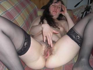 Id love to have the pleasure to please your beautiful hairy pussy with my tongue and cock till you cum multiable times,,