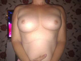 A full fine pair with perfect nipples. Enjoy!
