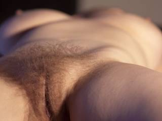 Your hairy pussy is beautiful! I love it! I wanna bury my face in it for hours and hours! I wanna kiss, lick,nibble and suck your delicious pussy to dozens of mind blowing orgasms! May I?