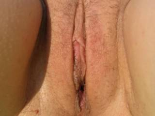 lovely shaven pussy- would love to put my big circumcised cock deep inside you