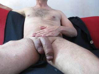 just my cock freshly shaved