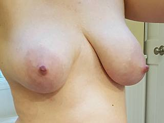 Heavy milk filled tits sure aren't going to empty themselves... won't you help?