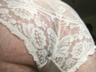 Playing in white panties and stockings xx Kimmi