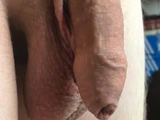 My uncut soft dick...wanna make it hard?!?