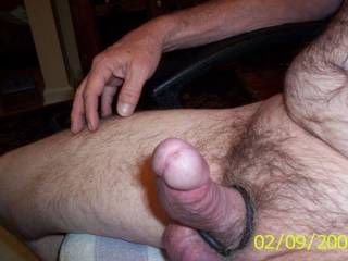 nice cock! I want that big dick to fill my virgin ass then I will suck till it explodes!