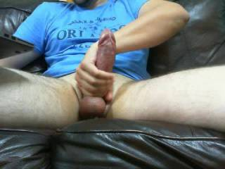 just a nice slow stroke of my fat horny dick after chatting with some zoig friends
