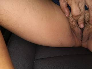 Look at my pussy. Are you tempted by it?