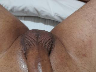 Thinking of a beautiful exotic tight pussy ir butthole rubbing my cock up and down