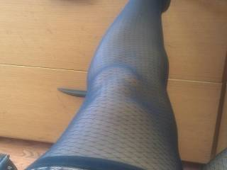 she would love you to cum all over her leg after she sucks your cock.  Ladies ...she wants you to rub your pussy all over her silky nylons...anyone UP for it?