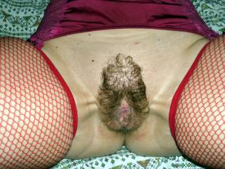 I wanna lick her hairy pussy and fuck till morning.