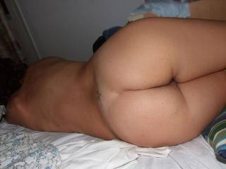 Id love to slide my cock between those ass cheeks
