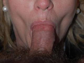 Love your earring and necklace. Really love them when you have his big, stiff cock in you mouth