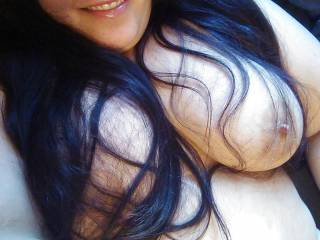 I would love to play with your big beautiful tits.