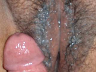 YES, would LUV a three-some with you and hubby, I would be in heaven to lick your used pussy and suck his cock.