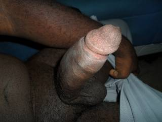 Just a new pic of my manhood. Would you like to ride it, stroke it, suck it, bend over for it, titty fuck it, or spread your legs for it?