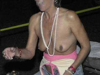 More tits from the motorcycle rally!