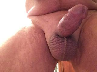 What a hot sexy cock you have and such sexy balls too!  I would so love to suck your sexy cock and have you cum in my mouth!!