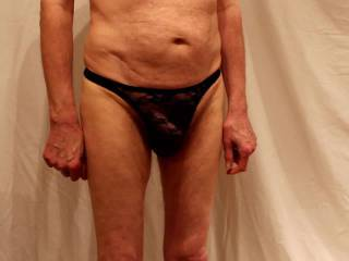 A video shot just last night to include the undies that I had not included in yesterday\'s video.