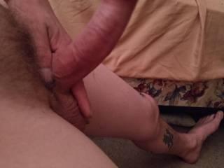 My dick hard