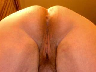 Mmmm... wet and ready for a little fun, but which hole will he pick?
