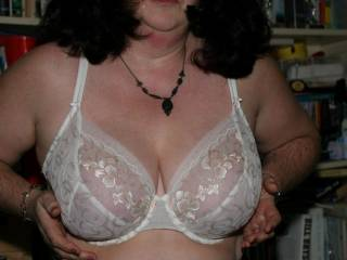 who?d like to be cupping my soft, milky F cups? i love having them played with, my nipples get so sensitive... tease me guys with your hard, throbbing cocks... mmmmm........ kisses, clairexxxxxxxx