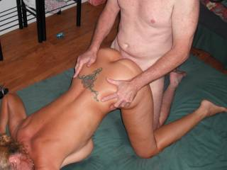 I\'m getting a good fucking from our friend\'s extra thick cock at the New Years Eve swinger party