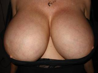 She said she loves having her tits tied but nobody has the courage to ask, she likes how it makes them feel and makes her breasts stick straight out,,so if you do\'nt ask.....JJs tied