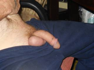 hubby teasing me with his dick