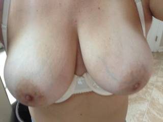 Damn right...wow those are amazing tits, love to give them loads of attention