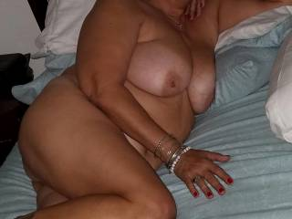 I just love being nude. Especially knowing that I am going to be fucked!