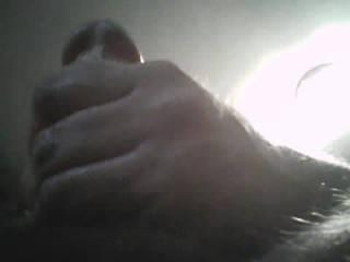 up shot of me masterbating.
