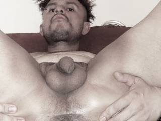 my wide open hairy hole what would u do to it?