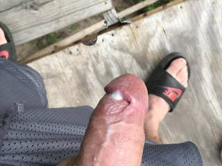 I love when my husband makes me cum all over his big hard cock!!!