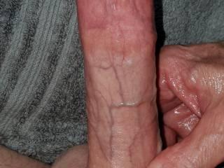 Huge erect hard dick cock shaft