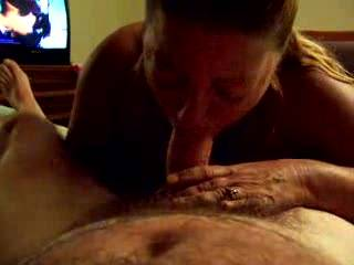 Deb doing what she does best, and giving me a lot of pleasure