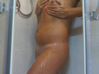 after a long working day what better than a hot shower..