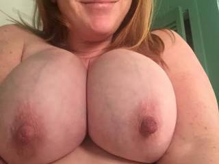 My ever-growing pregnant breasts.