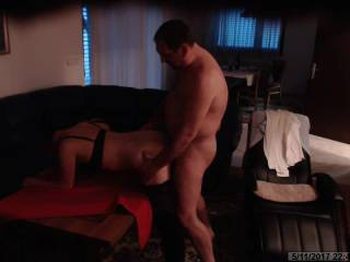 Part 2: she drive\'s me crazy ....beautiful body , perfect ass , love to bi fucked everywhere, this time on the table in my livingroom. enjoy her moans in next 5min and play with yourself, if u like it, then like this video, thx everybody for visiting us.
