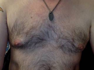 My hairy chest!
