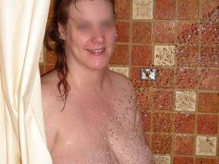 i would love to shower your beautiful tits with my cum