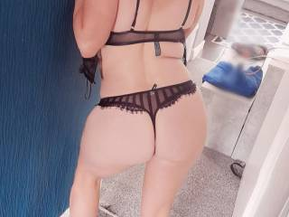 Take me from behind. Dont even give me chance to see your face, just rip off my thong fuck me hard, cum inside me then leave. X
