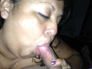 Older horny lady loves young cock... walked in and dropped to her knees immediately! she says i have a great cock... who wants to be next?