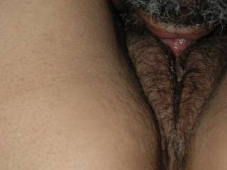 I love licking my horny wife\'s hot box.